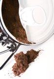 咖啡渣 免版税图库摄影