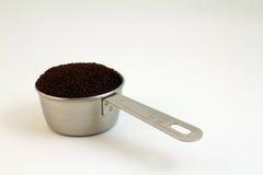咖啡渣 免版税库存照片