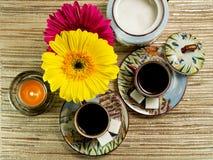 咖啡温泉 免版税库存照片
