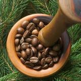 咖啡灰浆 免版税库存图片