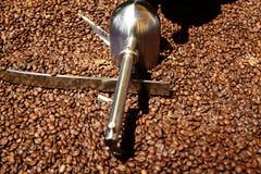 咖啡烘烤器机器 图库摄影