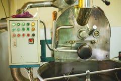 咖啡烘烤器 免版税图库摄影