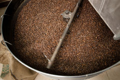 咖啡烘烤器 库存照片