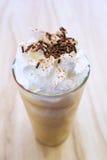 咖啡热奶咖啡frappe 库存照片