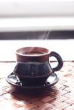 咖啡热早晨 库存照片