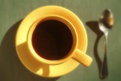 咖啡热杯子 免版税库存图片