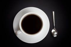 咖啡热的杯子 免版税图库摄影