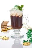 咖啡爱尔兰语 库存照片