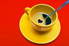 咖啡爱 库存图片
