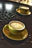 咖啡特写镜头 库存图片