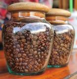 咖啡玻璃 免版税图库摄影