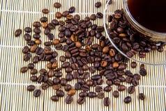 咖啡用豆 库存图片