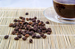 咖啡用豆 图库摄影