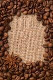 咖啡用茴香 库存照片