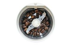 咖啡电磨房 库存照片