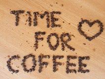 咖啡的时刻 免版税库存照片