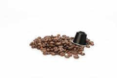 咖啡的胶囊 库存照片