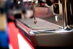 咖啡的设备 免版税库存照片
