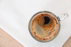 咖啡的运动 免版税库存图片