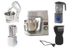 咖啡研磨机和食品加工器 免版税库存图片