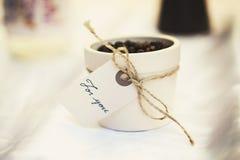 咖啡礼物 免版税库存照片