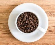 咖啡种子 免版税库存图片
