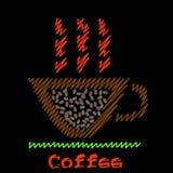 咖啡符号 免版税库存图片