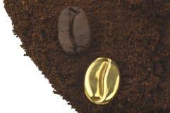 咖啡粉末 免版税库存照片