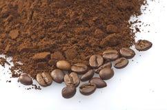 咖啡粉末 库存图片