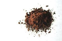 咖啡粉末 免版税库存图片