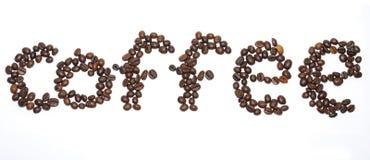咖啡粒登记 库存图片
