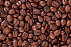 咖啡粒纹理 免版税图库摄影