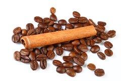 咖啡粒 免版税库存图片