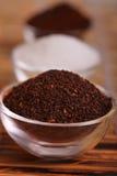 咖啡糖茶 库存照片