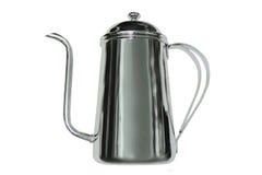 咖啡罐不锈钢 库存图片