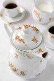 咖啡罐茶 库存图片