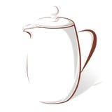 咖啡罐 免版税图库摄影