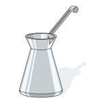 咖啡罐 向量例证