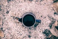 咖啡罐 免版税库存图片