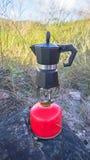 咖啡罐 免版税库存照片