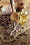 咖啡肥皂 免版税图库摄影