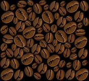 咖啡背景 免版税库存照片
