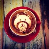 咖啡艺术 免版税图库摄影