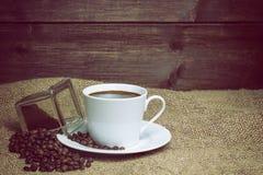 咖啡葡萄酒照片  水平地 库存照片