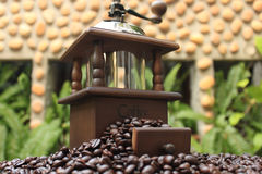 咖啡设备 免版税库存图片