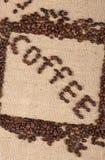 咖啡词 库存图片