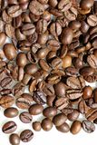 咖啡谷物。 库存照片