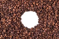 咖啡豆圈子 图库摄影