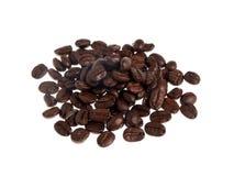 咖啡豆堆 图库摄影