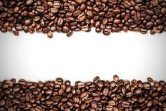 咖啡豆条纹 免版税库存图片